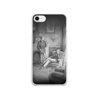 答えのない謎々 Soft clear smartphone cases