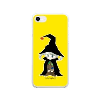 ソフトクリアスマホケース ハロウィンA Soft Clear Smartphone Case