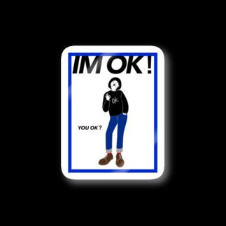2wins_yuriyuriのIM OK Stickers