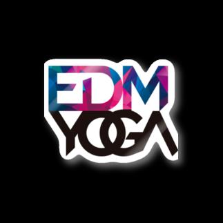 EDMyogaのEDM yoga ステッカー Stickers
