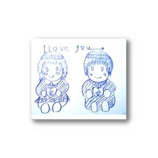 loveカップル Stickers
