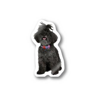ボサボサちょんまげヒュー Stickers