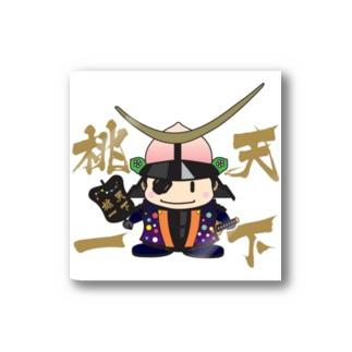 天下桃一 from ふくしま Stickers