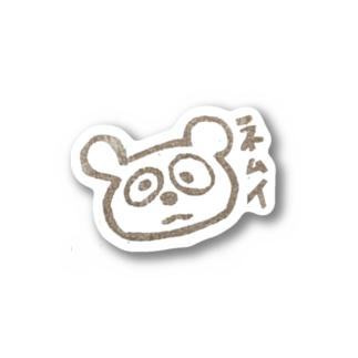 タヌキ Stickers