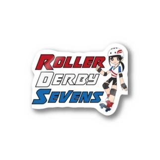 Roller Derby Sevens Stickers