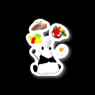 KaNaN〜パンダのコックパンダ🐼ステッカー Stickers
