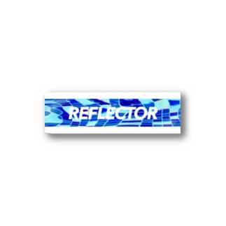 reflectorステッカー Stickers