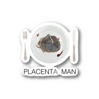 PLACENTAMAN Stickers