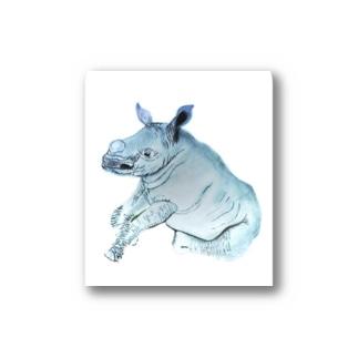 Kifaru【地球上最後の1頭を守るプロジェクト】 Stickers