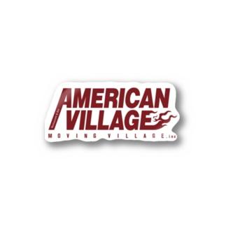 American Villageシリーズ Stickers