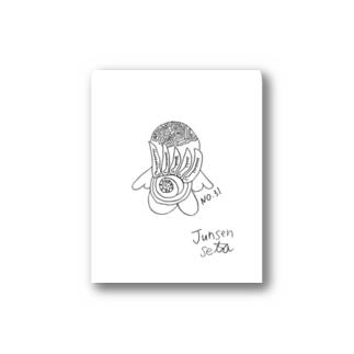 JUNSEN(純仙)飛んでいこうどこまでも 春の胸騒ぎ Stickers