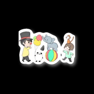だぁ兄( ◜௰◝ )🐼🍒のだぁ兄withりさ丸 Stickers