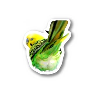 モフチリセキセイ Stickers