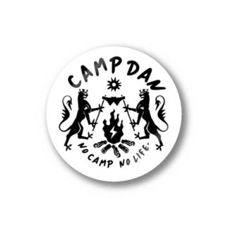 キャンプ団 宴会 ステッカー