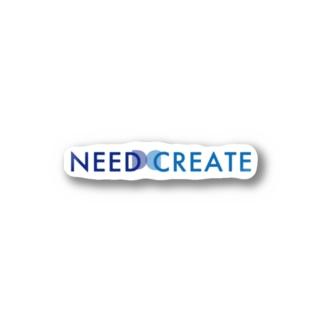 NEEDCREATEオリジナルステッカー Stickers