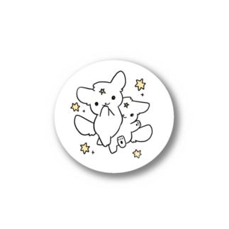 ふぃー犬ぶんしんのじゅつ Stickers
