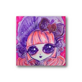 Gothic lolita Rose~Pink&Purple~ Stickers