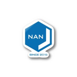 NANJCOIN公式ロゴ入り Stickers