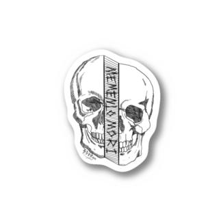 Memento mori Stickers