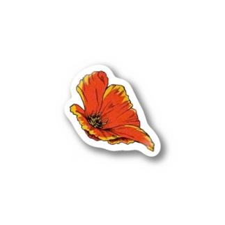 るんるんお花 Stickers