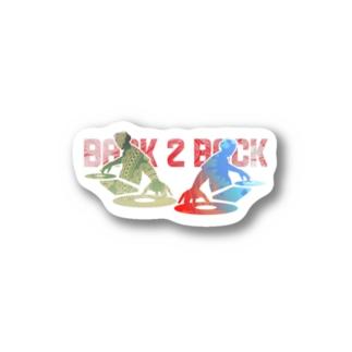 アニクラデザイン「BACK2BACK」 Stickers