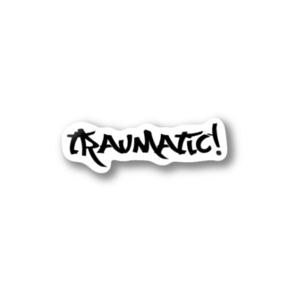 traumatic000 ステッカー