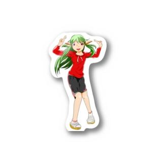 ルーラルーのステッカー Stickers