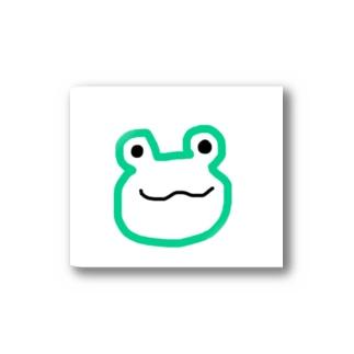 カエル Stickers