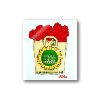 rose foods market ステッカー