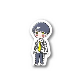 吉田仁人 Stickers