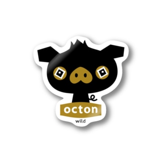 octon #wild Stickers