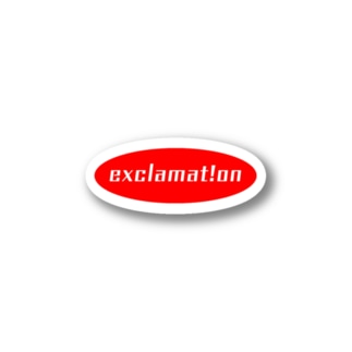 exclamat!on Stickers