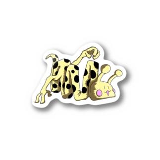 折りたたみきりんグッズ Stickers