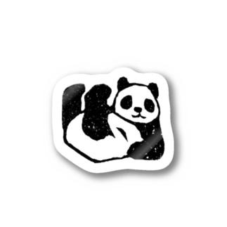 足上げパンダちゃん Stickers