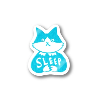 末広さん「SLEEP」 Stickers