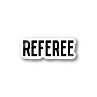REFEREE レフェリーロゴ Stickers