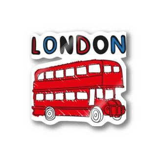 ロンドンバス Stickers