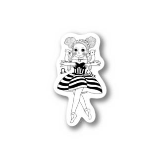 12星座娘「てんびん座」 Stickers