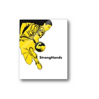 StrongHands Sportsmanステッカー ステッカー