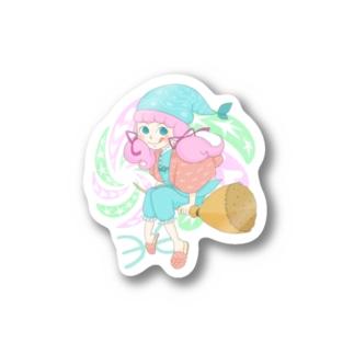 12星座ガールズ・No.12「うお座」 Stickers