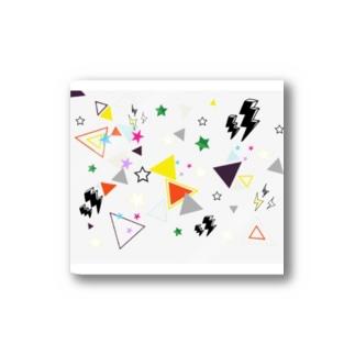かくかく(白) Stickers