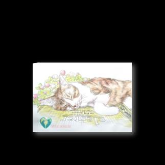 高崎アニマルランドの猫とスケッチブック Stickers