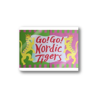 for the nordic tigers '18 Stickers