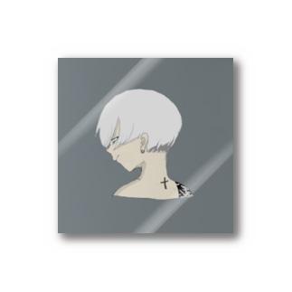 クソ元カレの似顔絵 Stickers