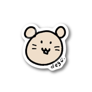 デグー☆DEGU☆degus  Stickers