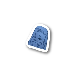 sasacoofiのさちゃん Stickers