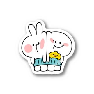 Spoiled Rabbit - Belly Warmer / あまえんぼうさちゃん - はらまき Stickers