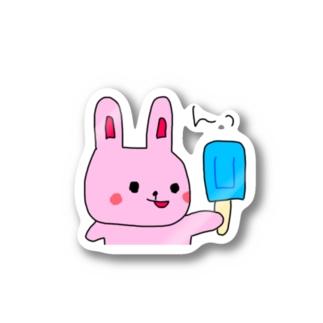 うさぎのうーちゃん Stickers