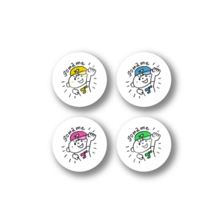gomameSEAL[color]  Stickers
