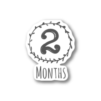 2months Stickers